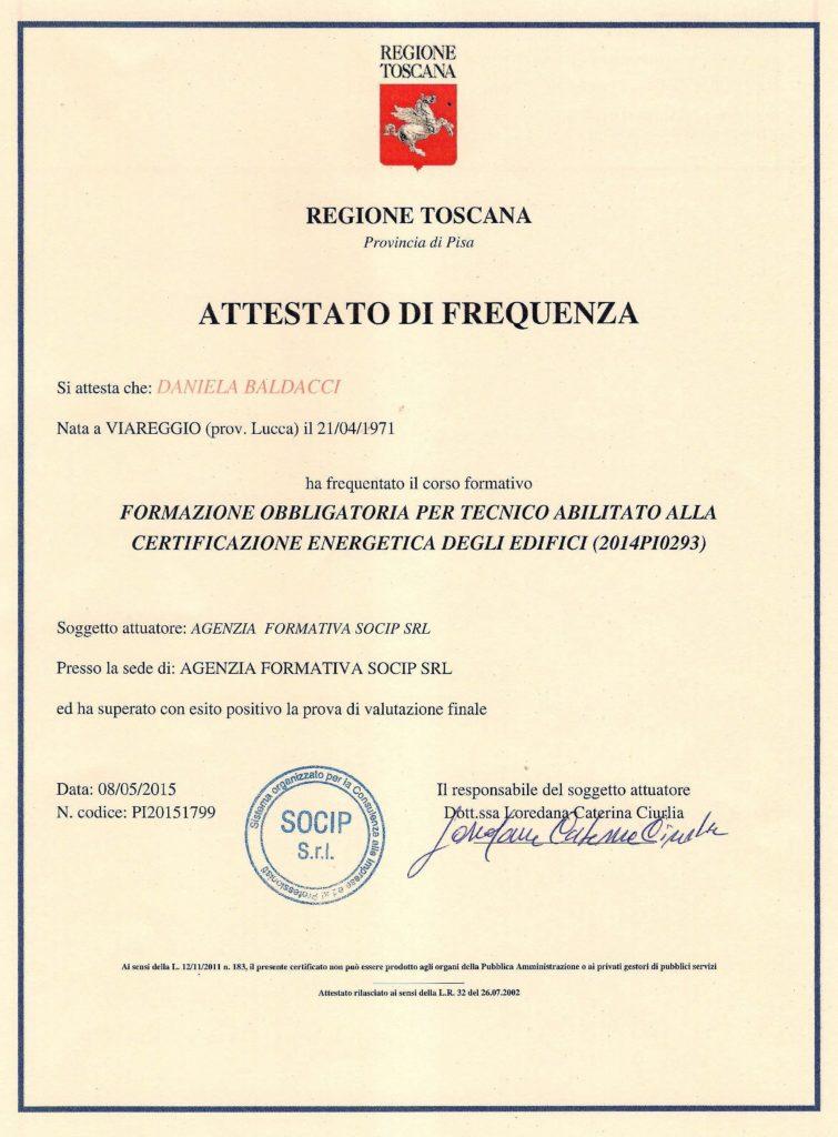 Qualifica certificatore energetico